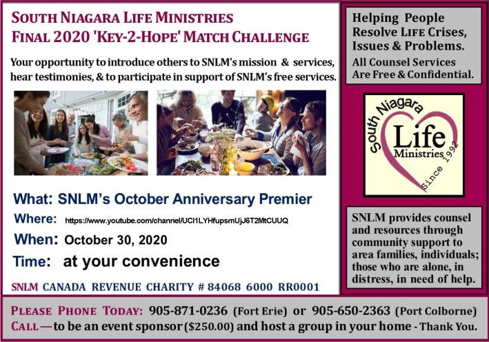 South Niagara Life Ministries